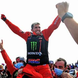 Benavides quedó segundo en la última etapa, pero aun así lideró la clasificación general.