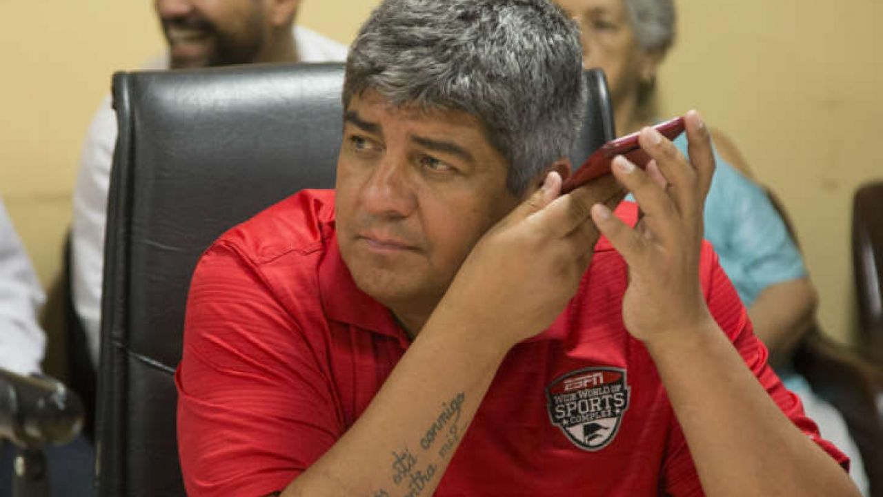 Pablo Moyano vicepresidente de Independiente.