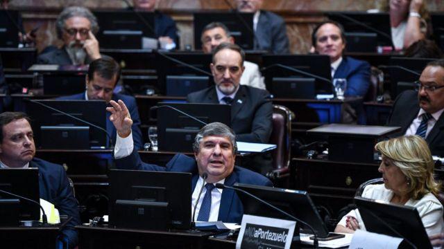 Los senadores del Frente de Todos repudiaron el ataque a Moreau 20210115