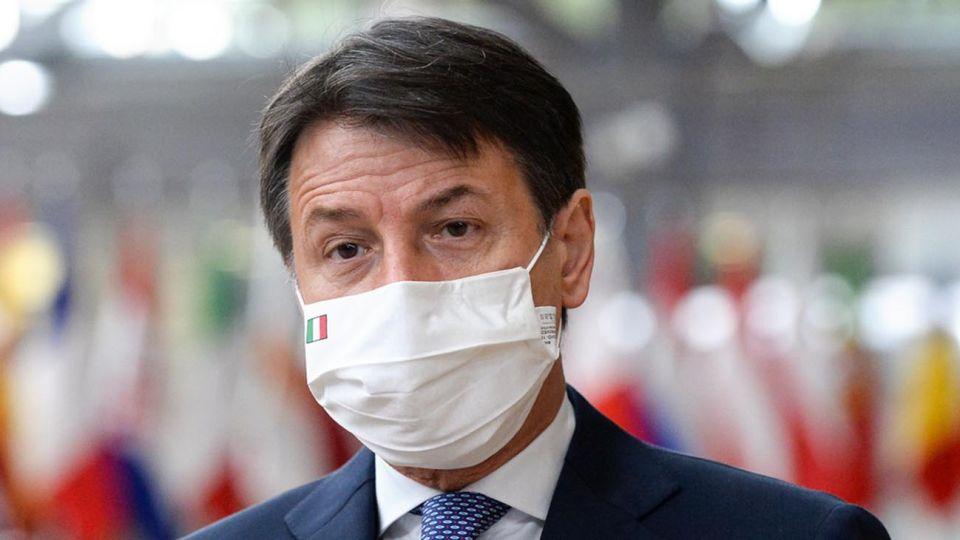 Giuseppe Conte, presidente del Consejo de Ministros.