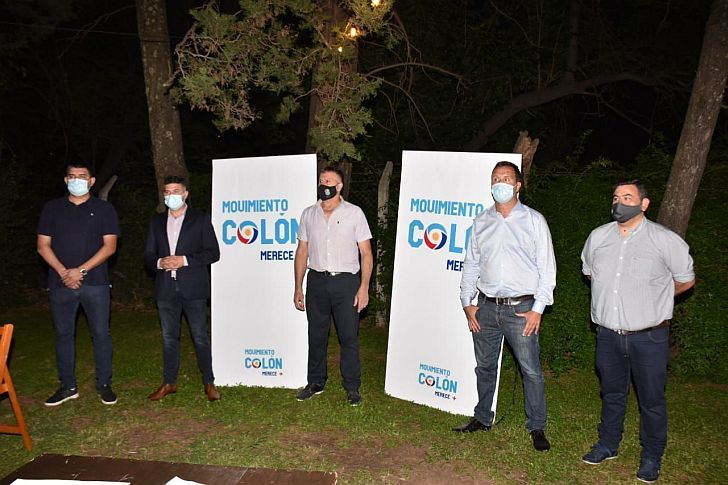 MÁS PARTICIPACIÓN. Con fuertes críticas a sectores K dentro del peronismo, se lanzó Colón Merece Más.