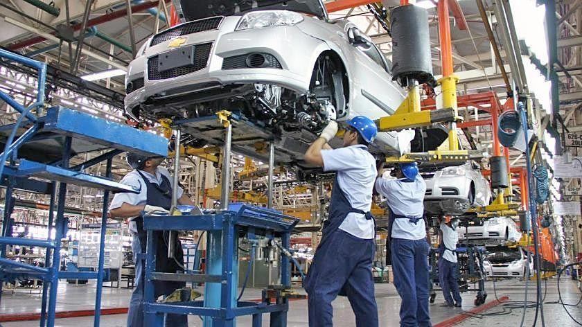 La producción industrial del sector automotriz en general tuvo una suba del 16,5%.