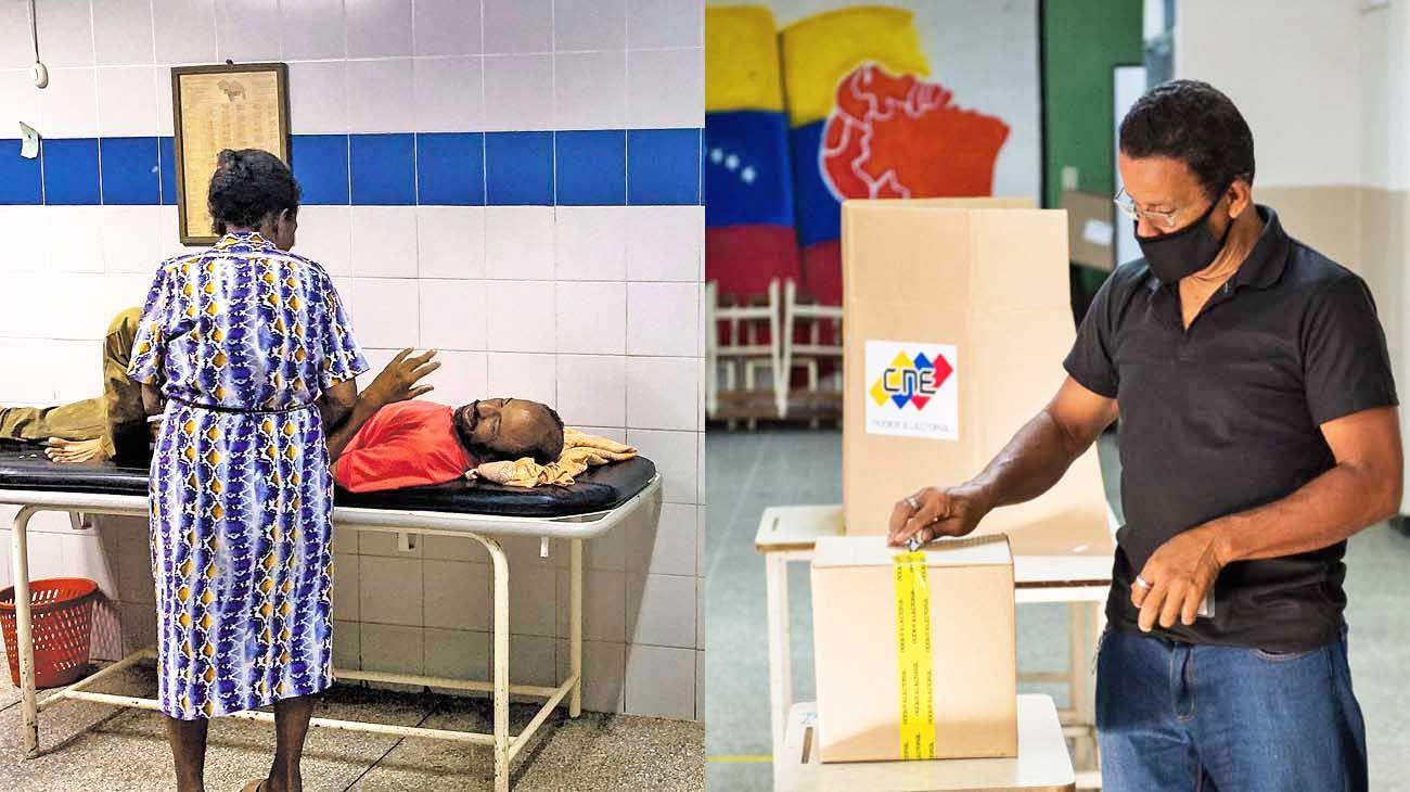Covid-19: Las cifras de casos son siete veces mayores a las oficiales. Y la ONU advierte que la salud pública está en ruinas. Elecciones y oposición: En las parlamentarias del 6 de diciembre solo votó el 30% del electorado, el nivel más bajo en la historia.