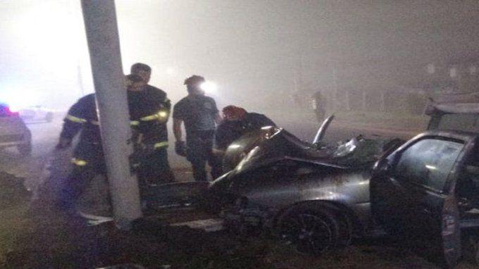 El grave choque de la Ruta 11 dejó un muerto y 5 heridos.