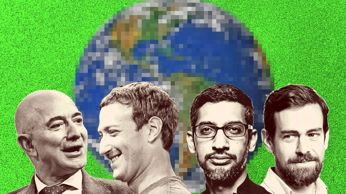 Some of the richest men on Earth.