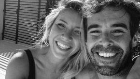 Laurita Fernández y Nicolás Cabré