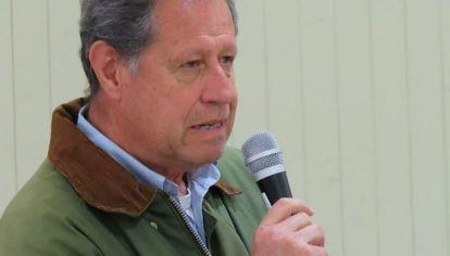 ASUMIÓ. Gómez Pizarro es el nuevo presidente de la Sociedad Rural de Jesús María.