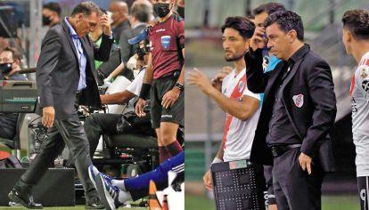 Sin libertadores. Con los equipos eliminados en semifinales, se abrieron nuevos panoramas: Russo ruega más actitud en Boca y a Gallardo le ruegan que no se vaya de River.