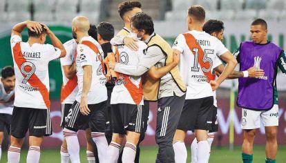 Admiración. Fue lo que provocó River a pesar de quedar eliminado de la Libertadores.