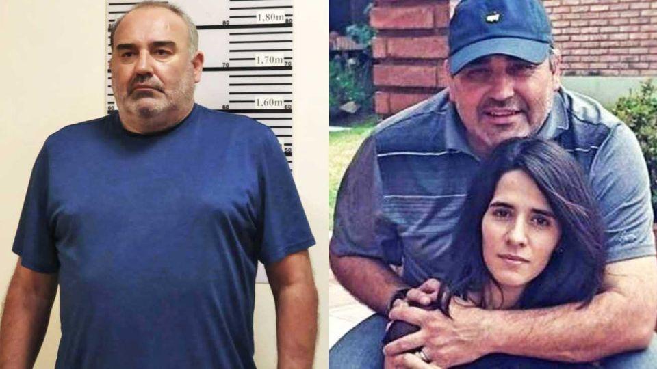 Ficha carcelaria. El golfista ingresó al penal de Río el jueves pasado a la noche. Su ex, Cecilia Torres Mana (izq.), nunca imaginó que pudieran detenerlo.