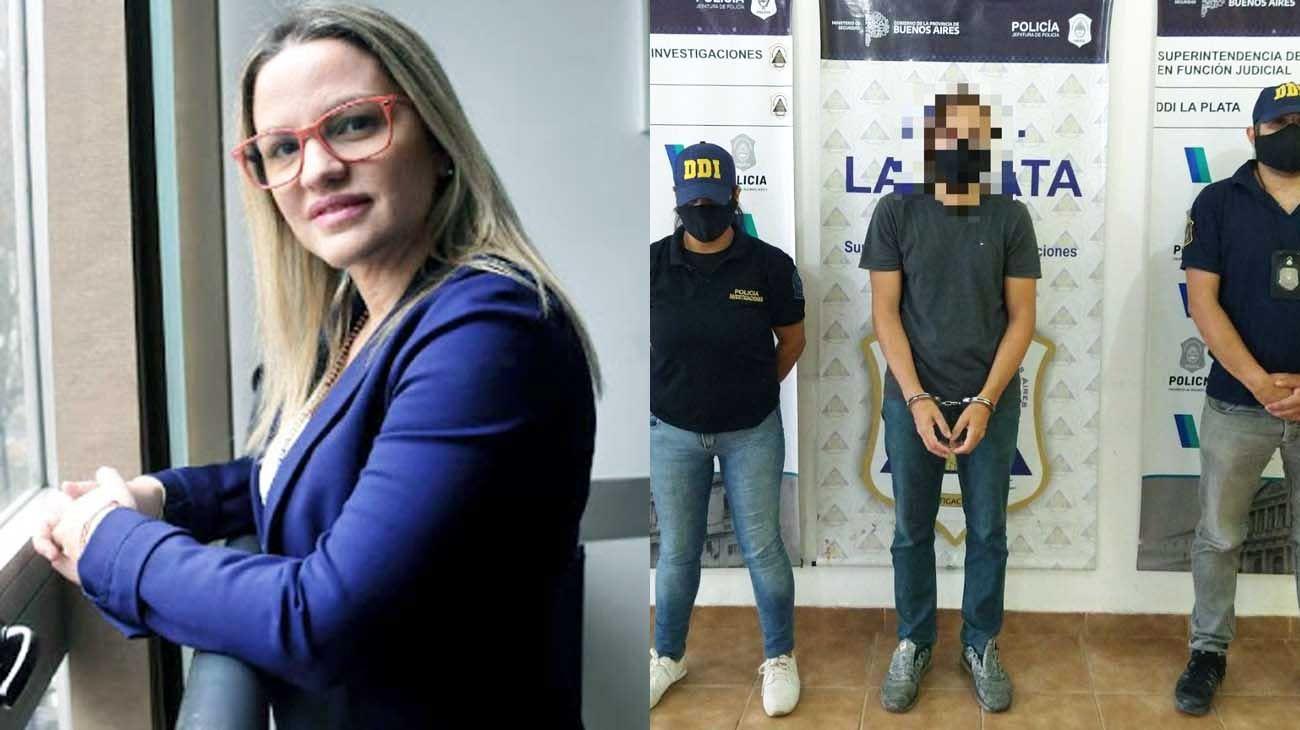 Diputada. Antes de atropellar a los jóvenes, Píparo denunció un robo.  Preso. Juan Ignacio Buzali fue detenido el 8 de enero pasado.