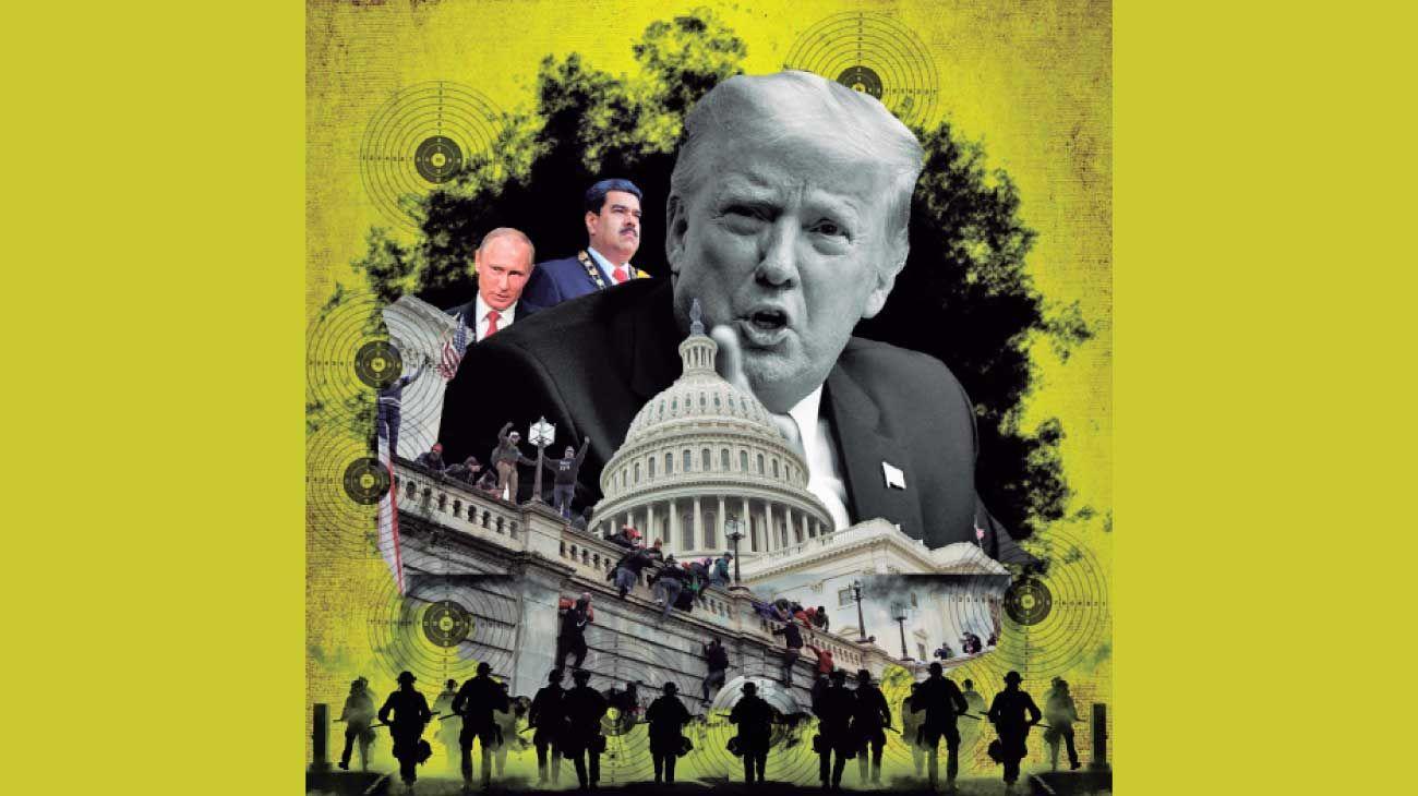La turba que atacó el Congreso de EE.UU. demostró que las amenazas a la democracia pueden venir de su interior. Trump y sus émulos en el mundo.