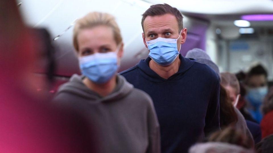 Alexei Navalny Detención