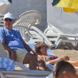 Ricardo Lorenzetti, en Cariló | Foto:Marcelo Escayola (desde Pinamar)