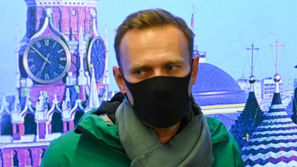 Alexei Navalni Enemigo Putin