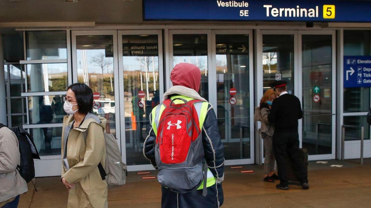 El aeropuerto internacional O'Hare, ubicado en Chicago, Illinois.