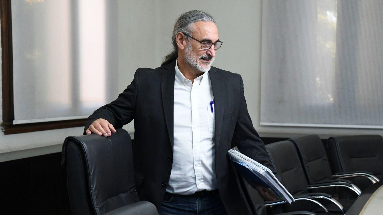 Basterra, ministro de Agricultura.