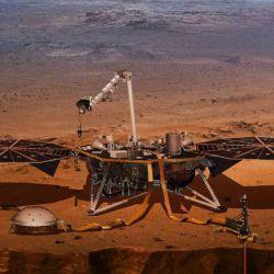 La sonda Insight había aterrizado en Marte el 26 de noviembre de 2018.