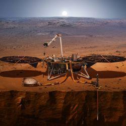 Los científicos confían en que al menos la misión Insight sirva de ayuda para las futuras expediciones al vecino planeta.nte varios días, no