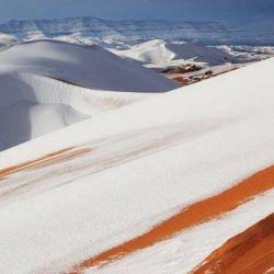 La amplitud térmica entre el día y la noche en el desierto es muy alta.