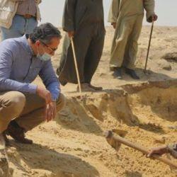 El hallazgo fue en las cercanías de la pirámide de Teti, en el sitio de Saqqara.