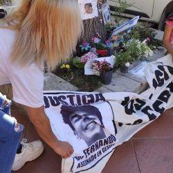 Fernando Báez Sosa; aniversario del asesinato en Villa Gesell a manos de un grupo de rugbiers | Foto:Marcelo Escayola