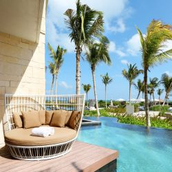 Un resort de lujo, frente a la quietud natural de Isla Mujeres (a tan solo media hora de Cancún).