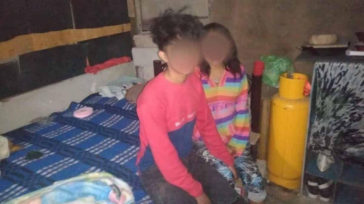 Una niña de 12 años y un adolescente de 15 fueron padres de un bebé de ocho meses.