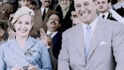 Eva Duarte y Juan Domingo Perón