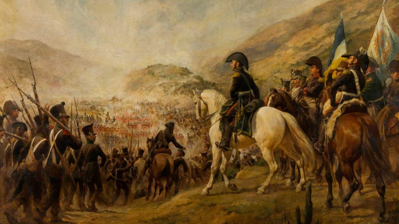 Batalla de Chacabuco | Foto:Pedro Subercaseaux