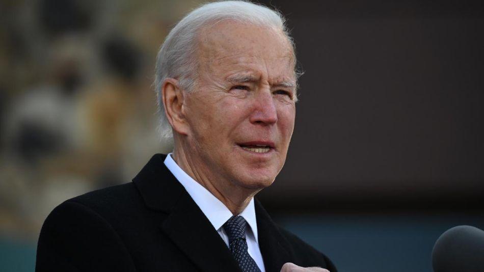 Joe Biden horas antes de asumir como presidente 20201109