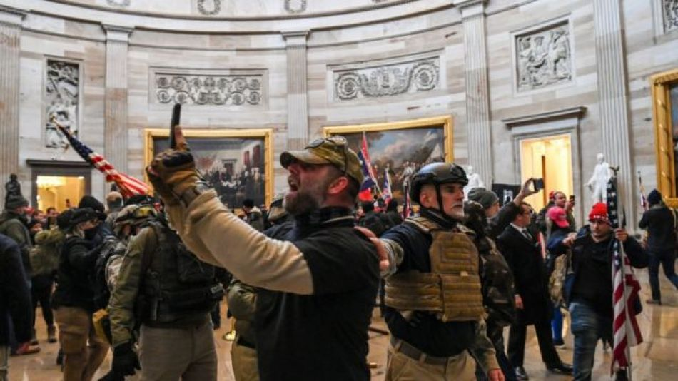 Nuevas amenazas al Capitolio, en Estados Unidos