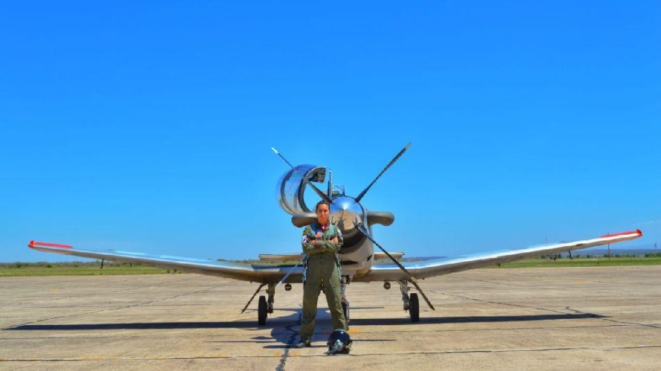 Rocío García Demarco - Piloto de la Fuerza Aérea Argentina