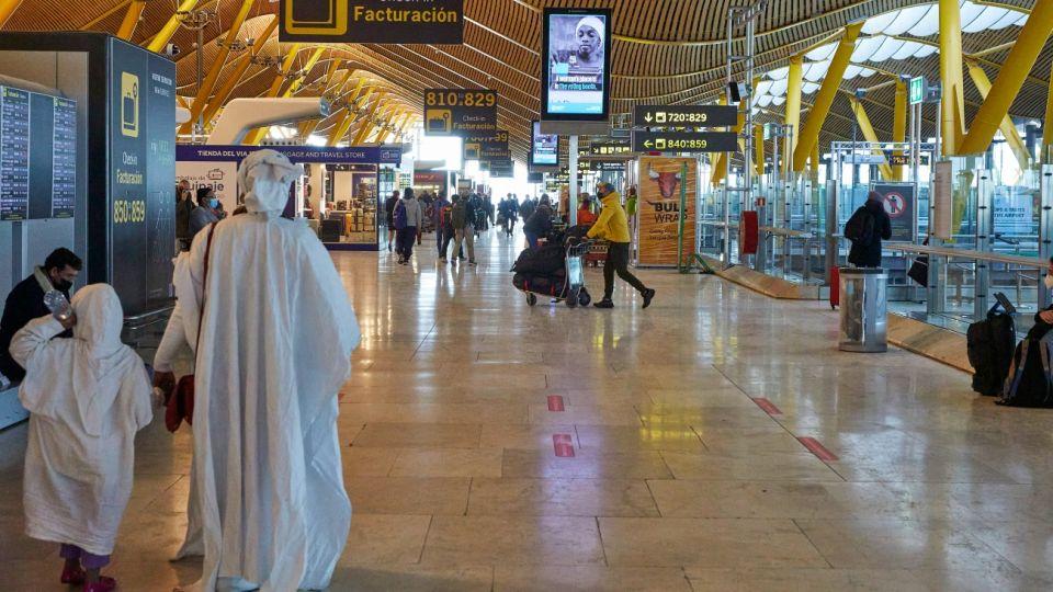Aeropuerto de Barajas, refuerzan controles.