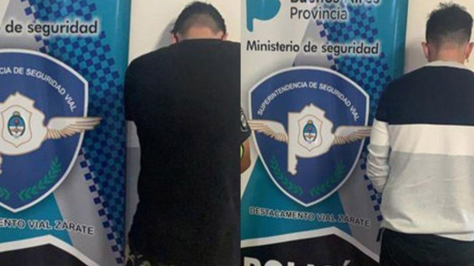Alejandro Galvano(23) y Andrés Guillermo Bracamonte (21), los presuntos agresores.
