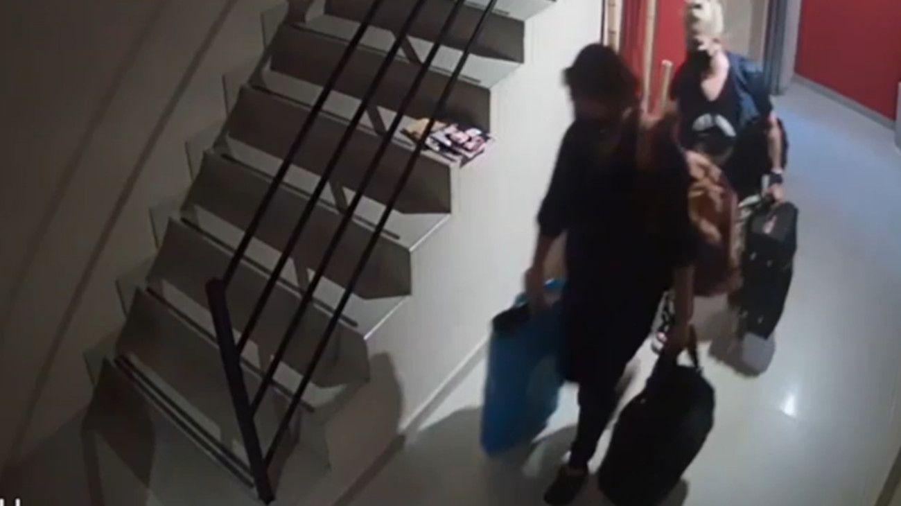 Las viudas negras acusadas por el robo en el barrio porteño de Liniers.