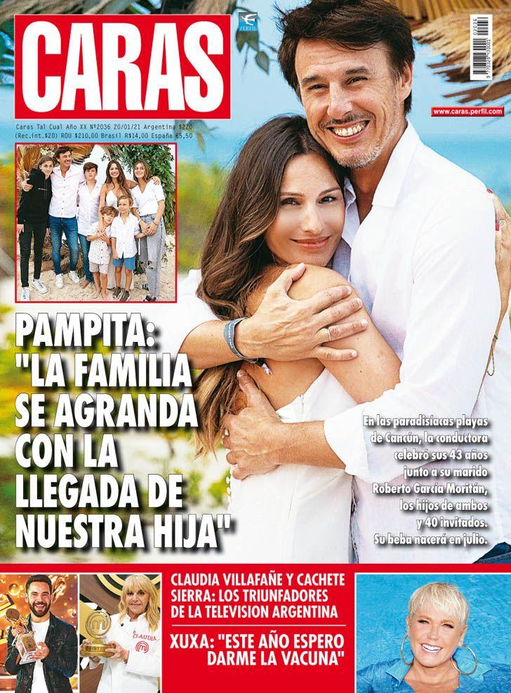 "Pampita: ""La familia se agranda con la llegada de nuestra hija"""