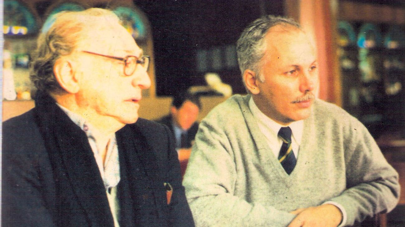 Abelardo Ramos y Víctor Ramos.