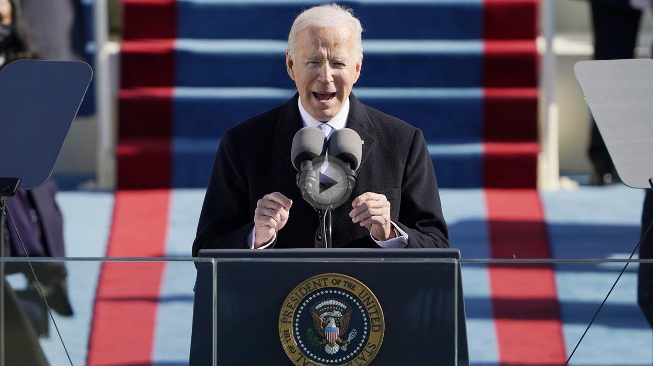 Asunción de Joe Biden