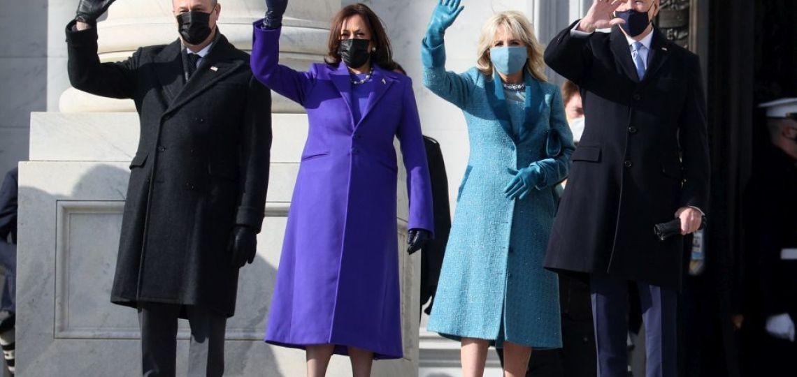 Kamala Harris eligió a dos diseñadores afrodescendientes para la asunción de Joe Biden