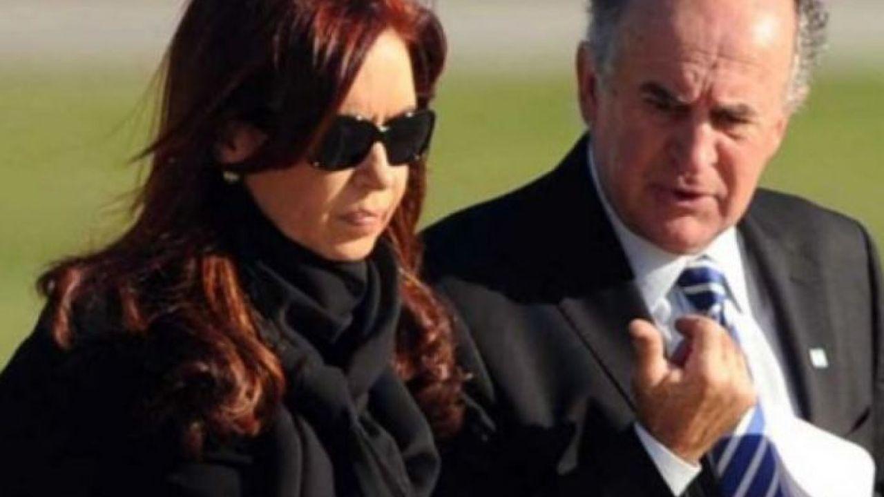 Cristina Kirchner junto a Oscar Parrilli | Foto:CEDOC