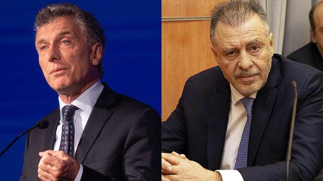 Mauricio Macri y Cristobal López 20210120