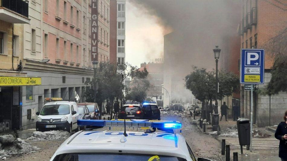 Explosión en Toledo.