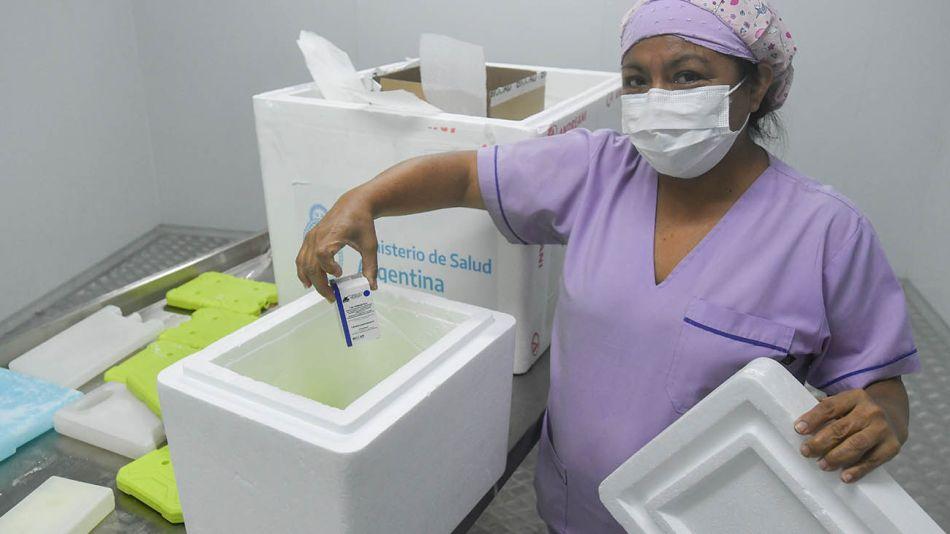 quiros y vacunacion en hospitales porteños 20210120