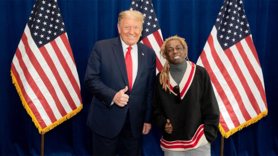 Lil Wayne, el rapero indultado por Trump