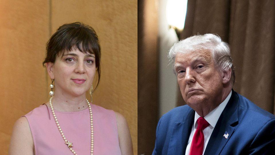 Mercedes D'Alessandro - Donald Trump