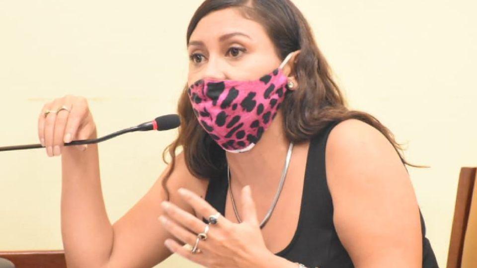 Celeste Ruiz Díaz, concejala detenida en Formosa.