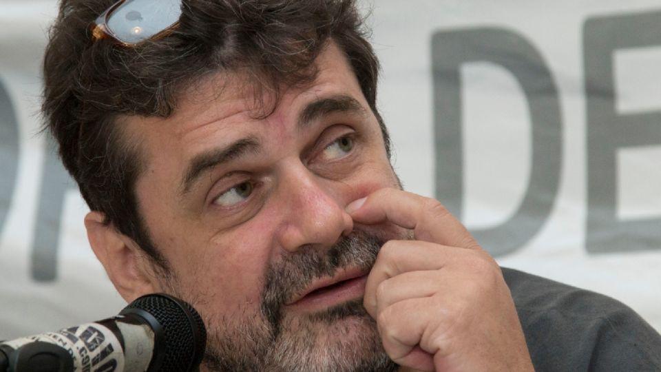 El secretario general de metrodelegados, Roberto Pianelli.