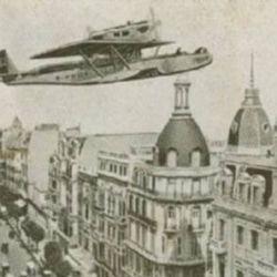 Fue el primer un vuelo transoceánico entre España y América.