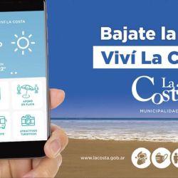 La aplicación cuenta con información sobre la zona que se actualiza cada treinta minutos.